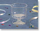 PLASTIC LIQUOR - WINE - CORDIAL SAMPLING GLASSES / CUPS CCW2240