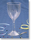 CLASSICWARE® PLASTIC WINE GLASSES 1 PIECE - 6 oz. (177 ml) CWSWN6