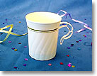 8 OZ. MASTERPIECE PLASTIC COFFEE CUPS / MUG - GOLD COLLECTION CWM8192IPREM