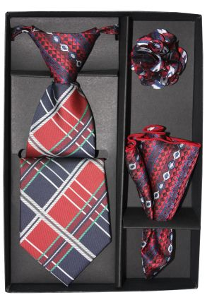 5 Second Tie Set with Design- 5ST-17047 5ST-17047
