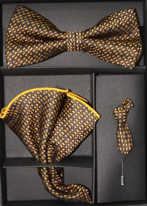 Bowtie, Tie Lapel Flower and Hanky 16177 BTH16177