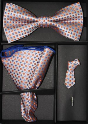 Bowtie, Tie Lapel Flower and Hanky 16180 BTH16180