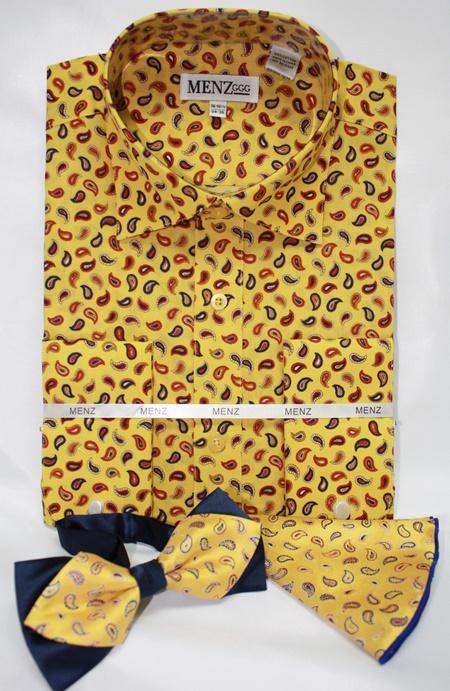 Shirt-Bowtie-Combo-GS-48 Shirt-Bowtie-Combo-GS-48