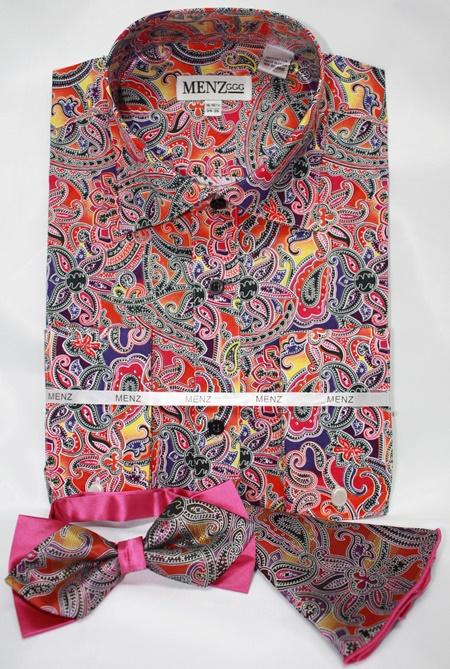 Shirt-Bowtie-Combo-GS-51 Shirt-Bowtie-Combo-GS-51