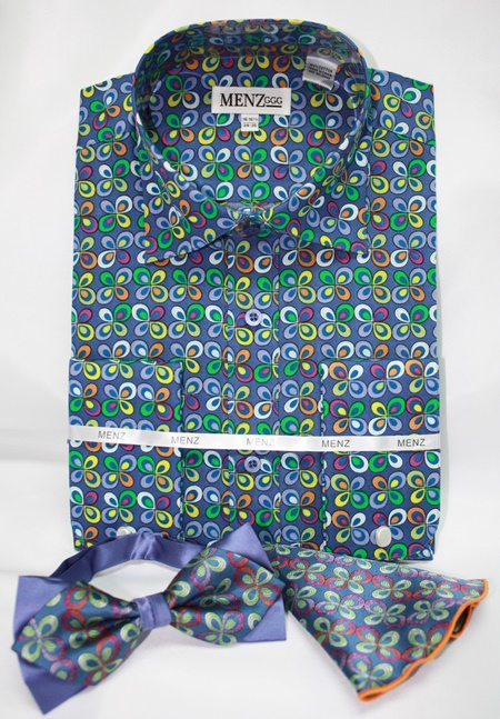 Shirt-Bowtie-Combo-GS-52 Shirt-Bowtie-Combo-GS-52