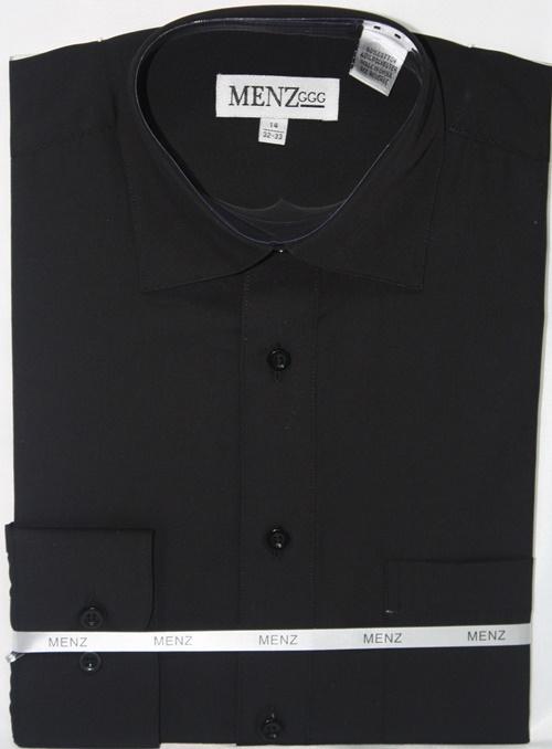Convertible Shirt-Black CS-Black