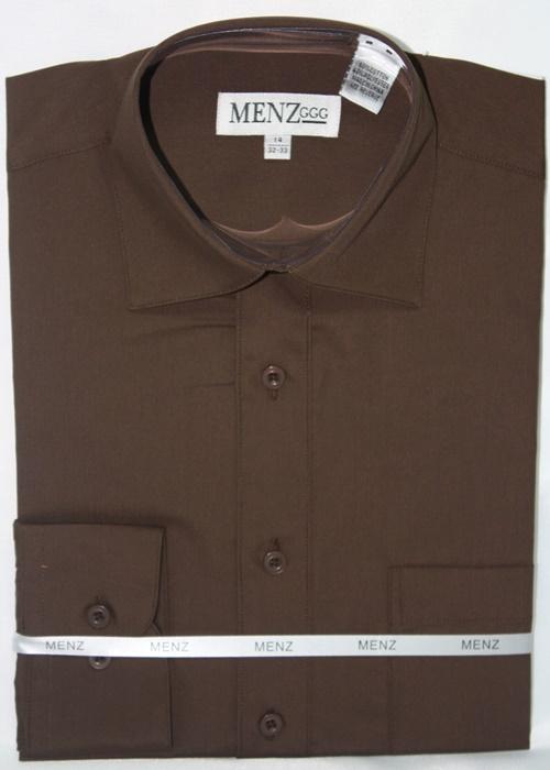 Convertible Shirt-Brown CS-Brown
