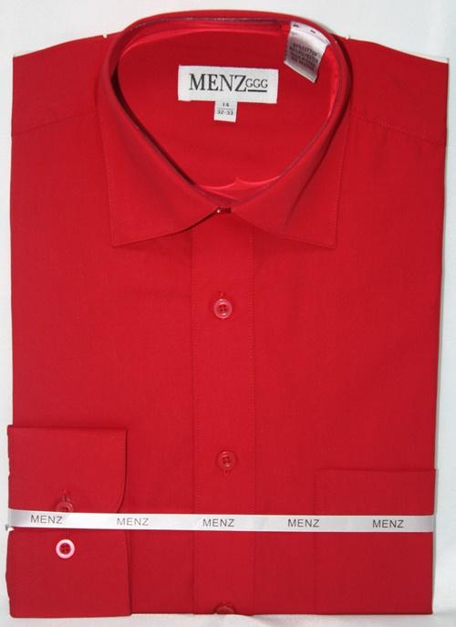 Convertible Shirt-Red CS-Red