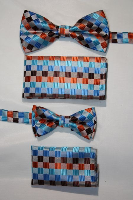 Father and Son Bow Tie and Hanky -FNS-15143 FNS-15143