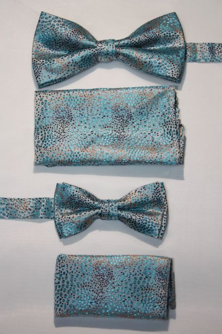 Father and Son Bow Tie and Hanky -FNS-15149 FNS-15149