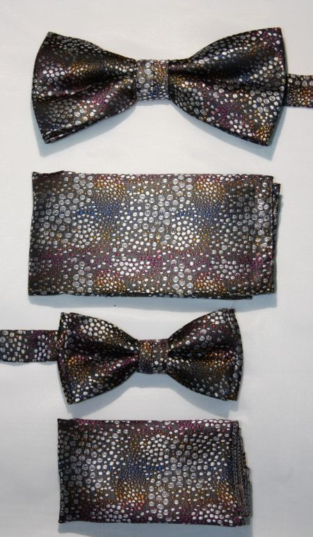 Father and Son Bow Tie and Hanky -FNS-15150 FNS-15150