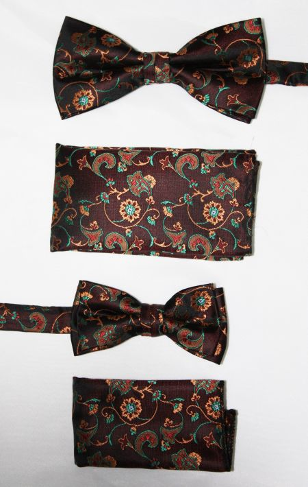 Father and Son Bow Tie and Hanky -FNS-15151 FNS-15151