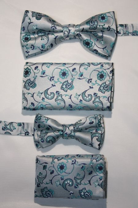 Father and Son Bow Tie and Hanky -FNS-15154 FNS-15154