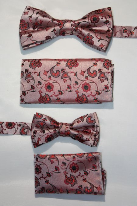 Father and Son Bow Tie and Hanky -FNS-15155 FNS-15155