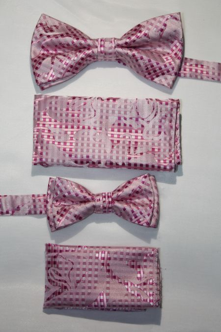 Father and Son Bow Tie and Hanky -FNS-15160 FNS-15160