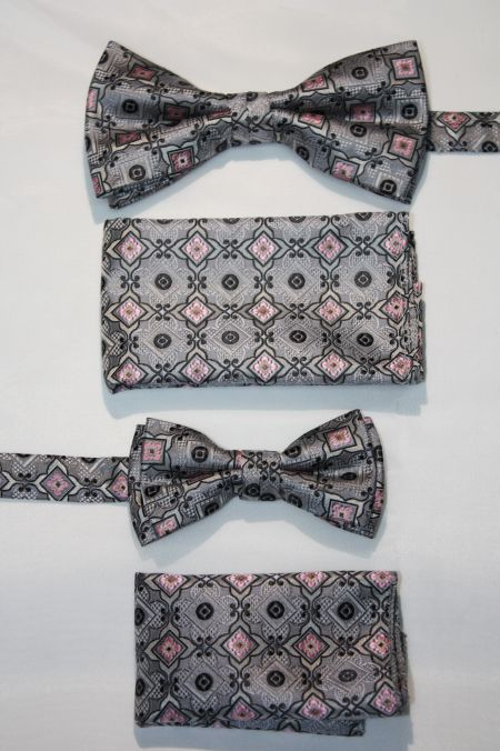 Father and Son Bow Tie and Hanky -FNS-15161 FNS-15161