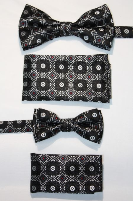 Father and Son Bow Tie and Hanky -FNS-15162 FNS-15162