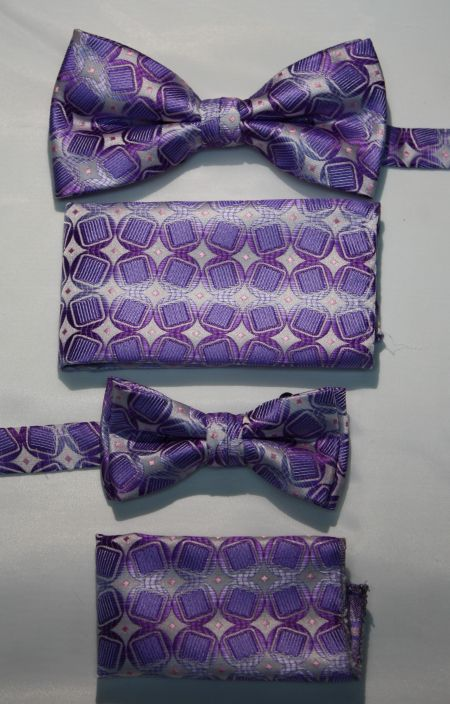 Father and Son Bow Tie and Hanky -FNS-15165 FNS-15165