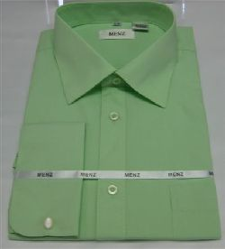 Menz French Cuff Dress Shirts-Mint mint