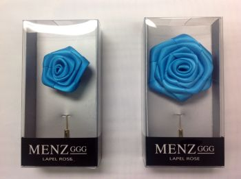 Rose Lapel Flower -Teal RLFBOX-TEAL