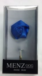 Lapel Rose Bud Royal Blue LRBUDRoyalblue