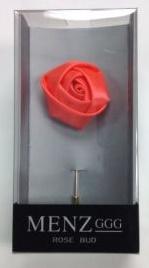 Lapel Rose Bud Salmon LRBUDSalmon