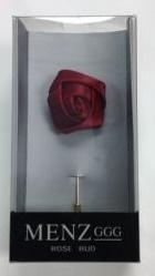 Lapel Rose Bud Scarlet LRBUDScarlet