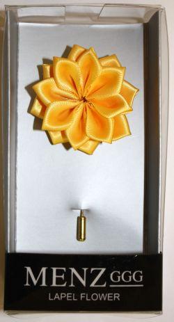 Lotus Lapel Flower 11  GOLD LLF-11-GOLD