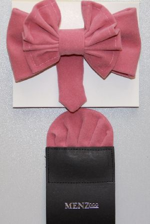 Man's Bowtie MBTV13207-Pink MBTV13207