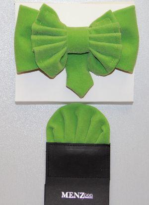 Man's Bowtie MBTV13215-Lime Green MBTV13215