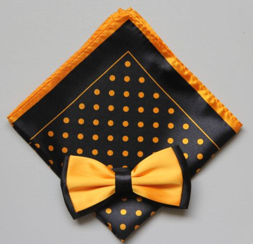 Polka Dot Bow Tie -Hanky 13376 pdbt13376