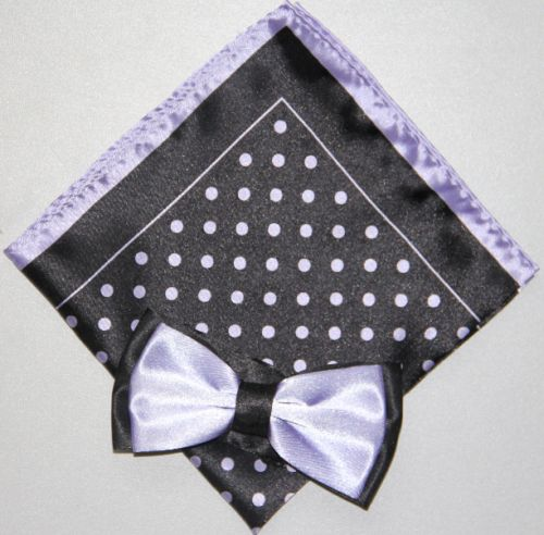 Polka Dot Bow Tie -Hanky 13379 pdbt13379