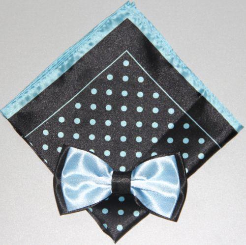Polka Dot Bow Tie -Hanky 13381 pdbt13381