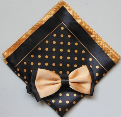 Polka Dot Bow Tie -Hanky 13382 pdbt13382
