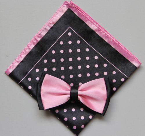 Polka Dot Bow Tie -Hanky 13383 pdbt13383