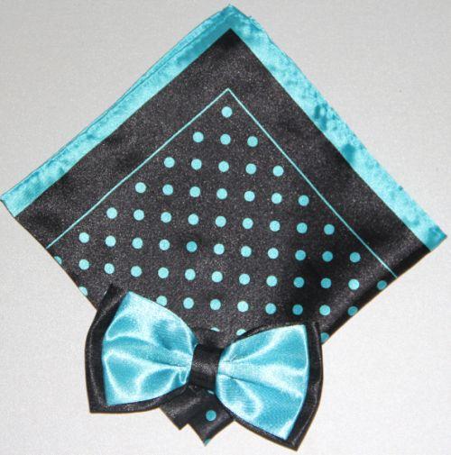 Polka Dot Bow Tie -Hanky 13384 pdbt13384