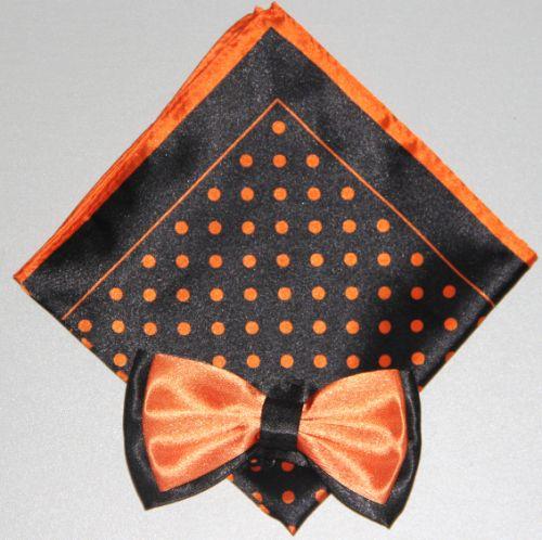 Polka Dot Bow Tie -Hanky 13385 pdbt13385
