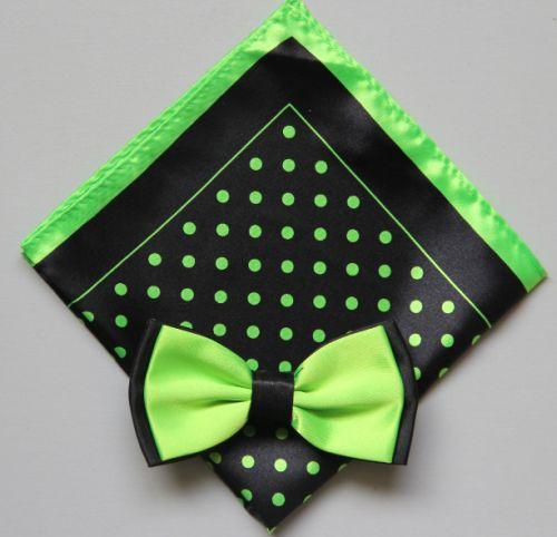 Polka Dot Bow Tie -Hanky 13386 pdbt13386