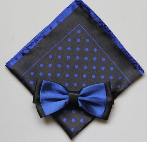 Polka Dot Bow Tie -Hanky 13388 pdbt13388