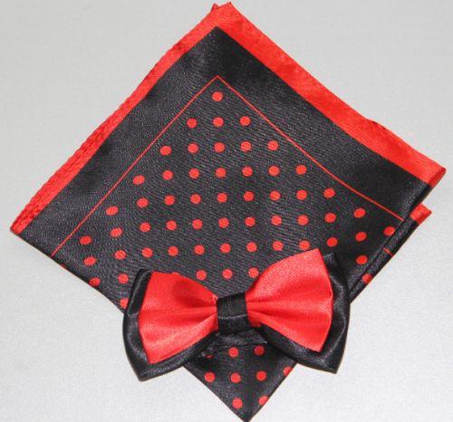 Polka Dot Bow Tie -Hanky 13389 pdbt13389
