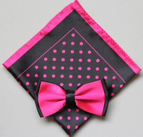 Polka Dot Bow Tie -Hanky 13390 pdbt13390