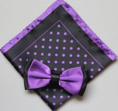 Polka Dot Bow Tie -Hanky 13391 pdbt13391