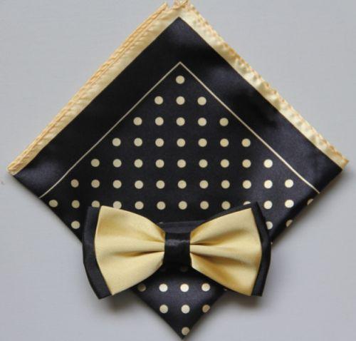 Polka Dot Bow Tie -Hanky 13392 pdbt13392