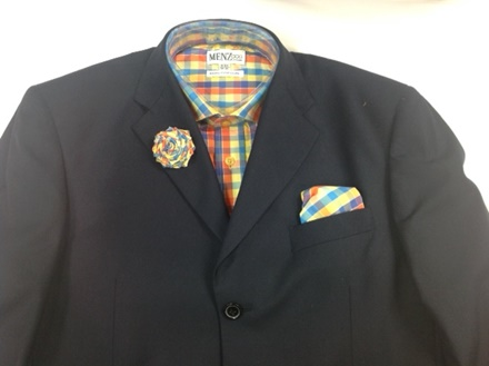 GS46 Shirt, Hanky and Lapel Flower GS46