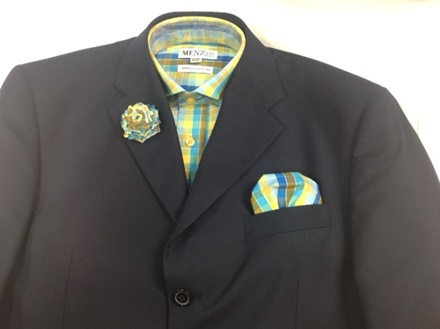 GS47 Shirt, Hanky and Lapel Flower GS47