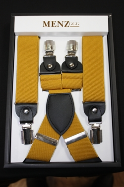 Solid Suspenders Gold SUSGold