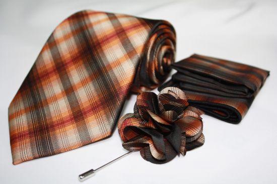 Tie Flower Hanky 15250 TFHS-15250