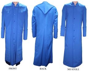 Zipper Robe (pictured with stole) #zipperrobe